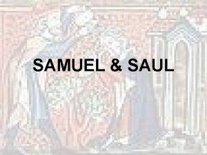 SAMUEL SAUL Era of Judges was mixed bag
