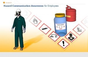 Introduction Hazard Communication Awareness for Employees Introduction How