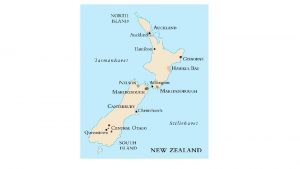 New Zealand New Zealand Startet vin produksjon p