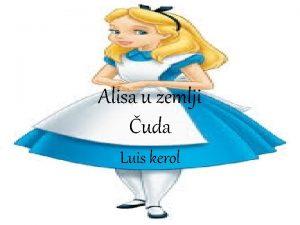Alisa u zemlji uda Luis kerol Analiza knjige