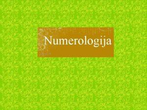 Numerologija pareng I B Japon numerologijos inovai tikina