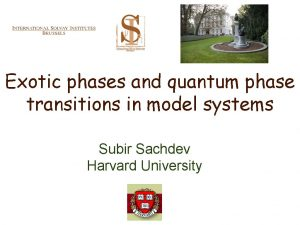 Exotic phases and quantum phase transitions in model