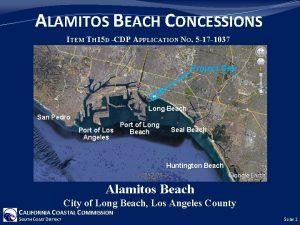 ALAMITOS BEACH CONCESSIONS ITEM TH 15 D CDP