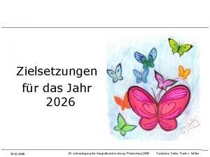 Zielsetzungen fr das Jahr 2026 18 02 2006