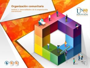Organizacin comunitaria Unidad 1 Generalidades de la organizacin