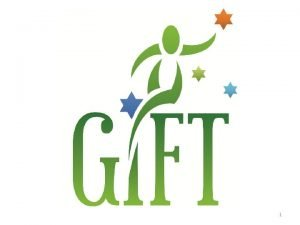 1 GIFT Reading Group The Generosity Network Guest