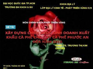 I HC QUC GIA TP HCM TRNG H