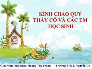 KNH CHO QU THY C V CC EM