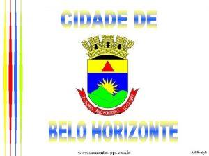 BELO HORIZONTE MG Cidade que Pertence Minas Gerais