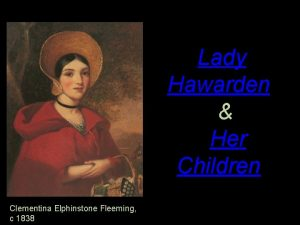 Lady Hawarden Her Children Clementina Elphinstone Fleeming c
