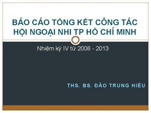BO CO TNG KT CNG TC HI NGOI