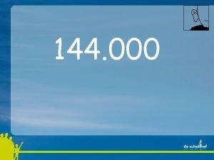 144 000 144 000 12 x 1000 144