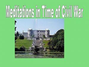 W B Yeats Ireland has for centuries been