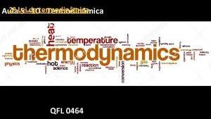 2 Lei da termodinmica Aula 5 10 Termodinmica