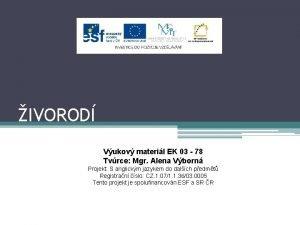 IVOROD Vukov materil EK 03 78 Tvrce Mgr