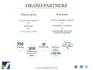 GRAND PARTNERS www grandpartners lt ENEAGRAMA 9 KOMUNIKACIJOS