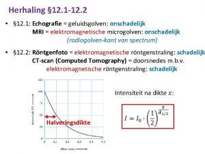 Herhaling 12 1 12 2 12 1 Echografie