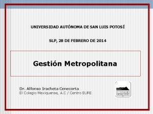 UNIVERSIDAD AUTNOMA DE SAN LUIS POTOS SLP 28