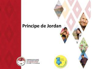 Principe de Jordan Plan Principe de Jordan Historique
