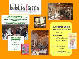 bibliosassosmarconi provincia bologna it www comune sassomarconi bologna