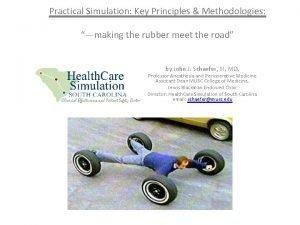 Practical Simulation Key Principles Methodologies making the rubber