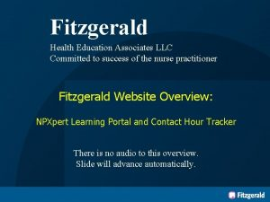 Fitzgerald Health Education Associates LLC Committed to success