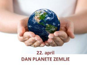 22 april DAN PLANETE ZEMLJE JUPITER SATURN NEPTUN