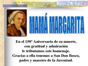 En el 150 Aniversario de su muerte con