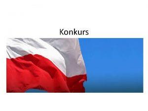 Konkurs Dlaczego jzyk polski dla ekonomistw Uczenie si