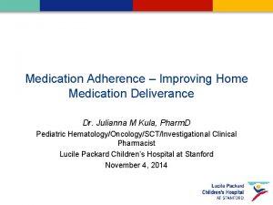 Medication Adherence Improving Home Medication Deliverance Dr Julianna