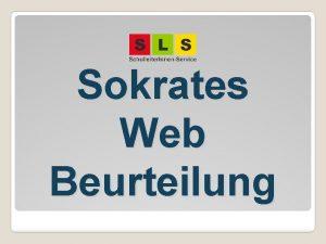 Sokrates Web Beurteilung bersicht Sokrates allgemeine Hinweise Hilfe