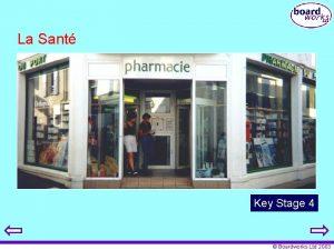 La Sant Key Stage 4 Boardworks Ltd 2003