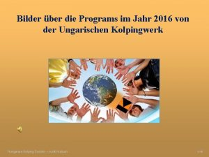 Bilder ber die Programs im Jahr 2016 von