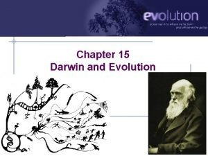 Chapter 15 Darwin and Evolution Darwin a reluctant