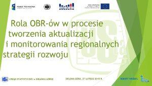 Rola OBRw w procesie tworzenia aktualizacji i monitorowania
