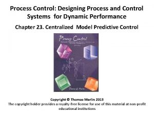 Process Control Designing Process and Control Systems for