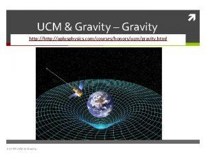 UCM Gravity Gravity http aplusphysics comcourseshonorsucmgravity html Unit