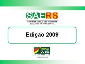 Edio 2009 Avaliao em educao Avaliao externa em