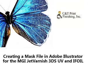 Creating a Mask File in Adobe Illustrator for