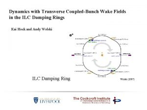 Dynamics with Transverse CoupledBunch Wake Fields in the