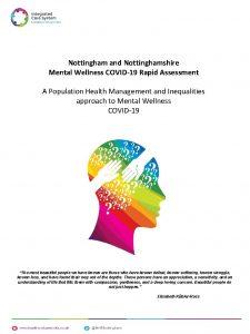 Nottingham and Nottinghamshire Mental Wellness COVID19 Rapid Assessment