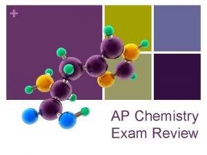 AP Chemistry Exam Review Project Contributors Big Idea