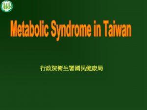 Insulin Resistance and Cardiovascular Disease INSULIN RESISTANCE Type