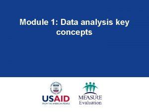 Module 1 Data analysis key concepts Module 1
