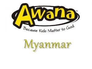 Myanmar Myanmar Myanmar is located in South East