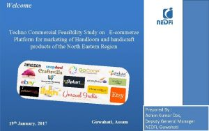 Welcome Techno Commercial Feasibility Study on Ecommerce Platform