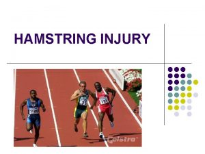 HAMSTRING INJURY The accuracy of MRI in predicting