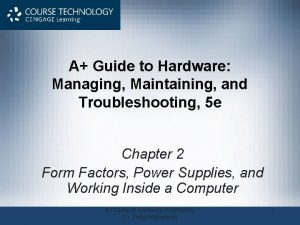 A Guide to Hardware Managing Maintaining and Troubleshooting