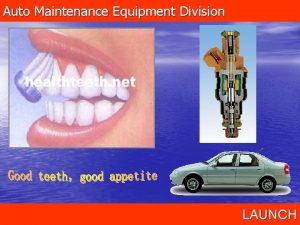 Auto Maintenance Equipment Division LAUNCH Auto Maintenance Equipment
