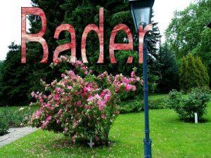 Baden pequea y graciosa localizada al sur de